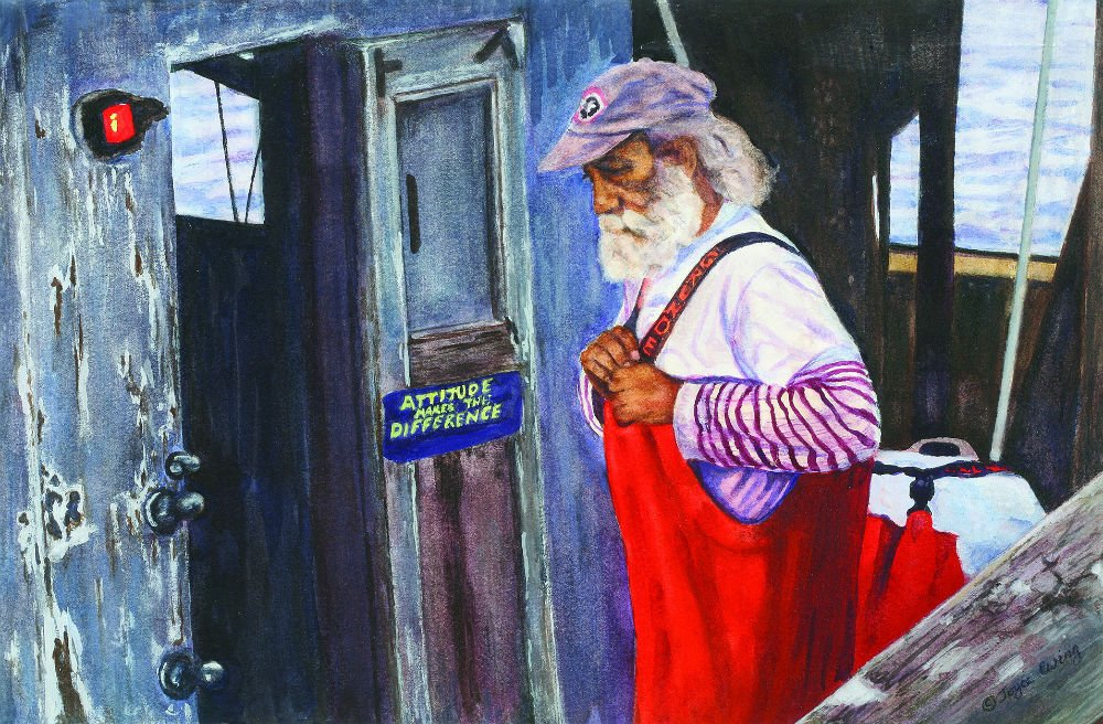 Falmouth Artist Joyce Ewing Featured At