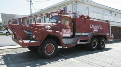 Zachary's Owner Puts Landmark Fire Truck Up For Sale | Mashpee
