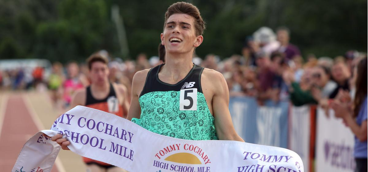 All Smiles At The Finish
