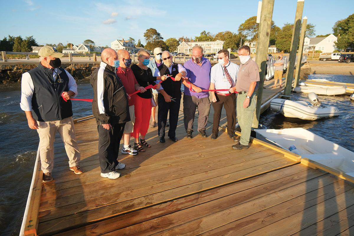 Barlow's Landing Dinghy Dock Dedication