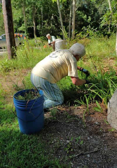 Grounds Work At Spohr Garden