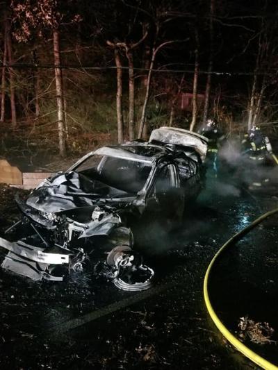 Thomas Landers Crash Aftermath