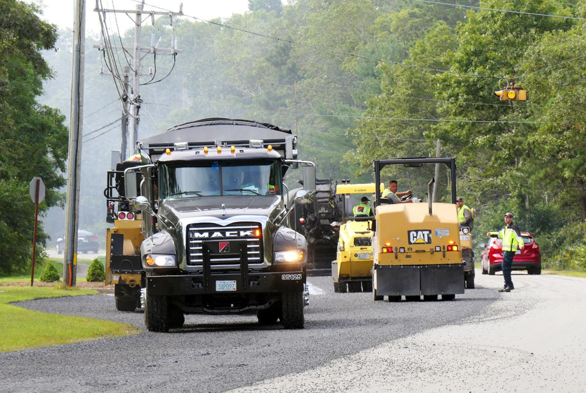 Paving On Quaker Meetinghouse Road
