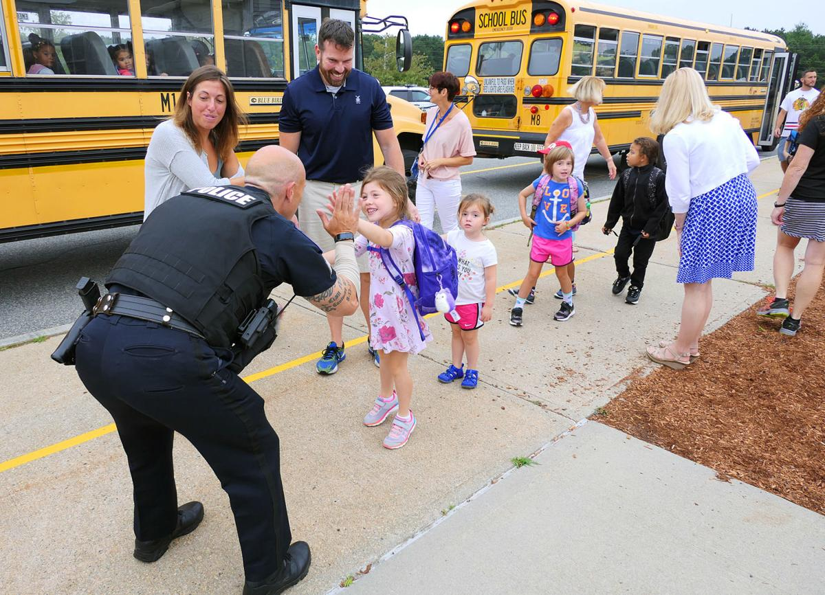 K.C. Coombs First Day For Kindergarten