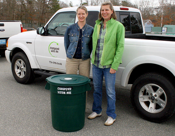 Mashpee DPW Gets New Composting Receptacles