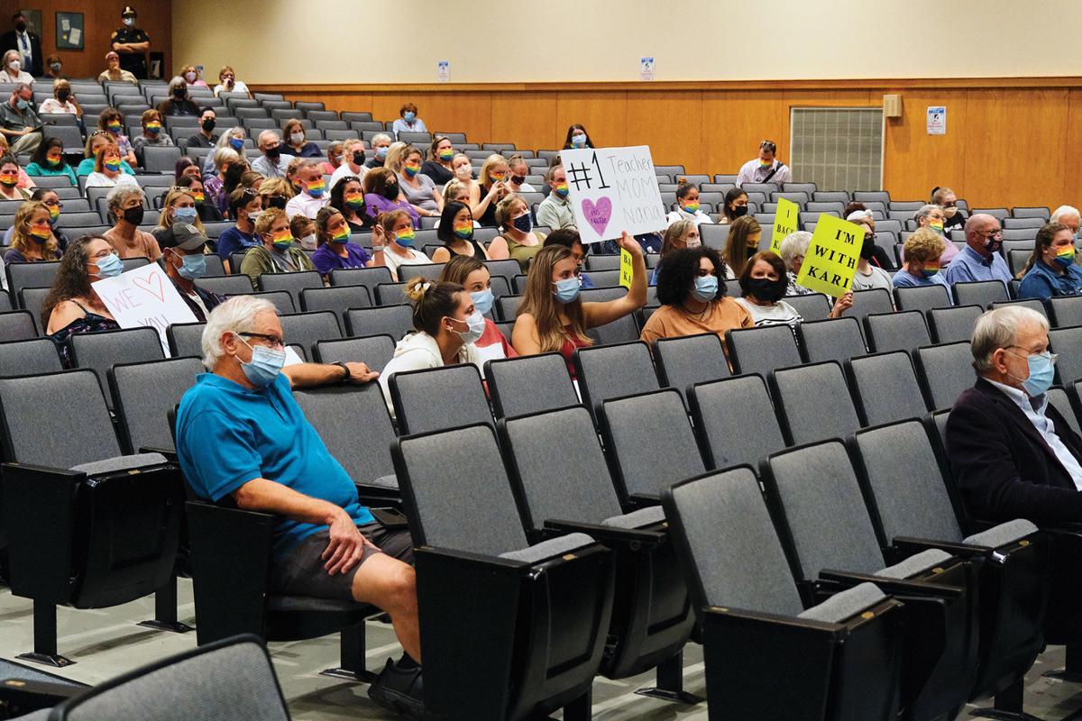 Bourne School Committee, Kari MacRae Hearing