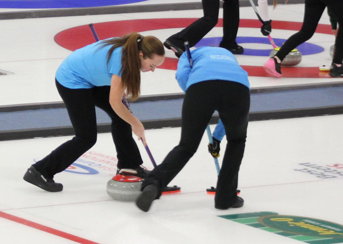 Teenage Curler Setting Ice On Fire | Falmouth News