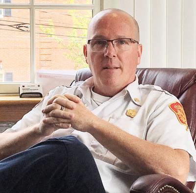 Falmouth Fire Chief Michael Small