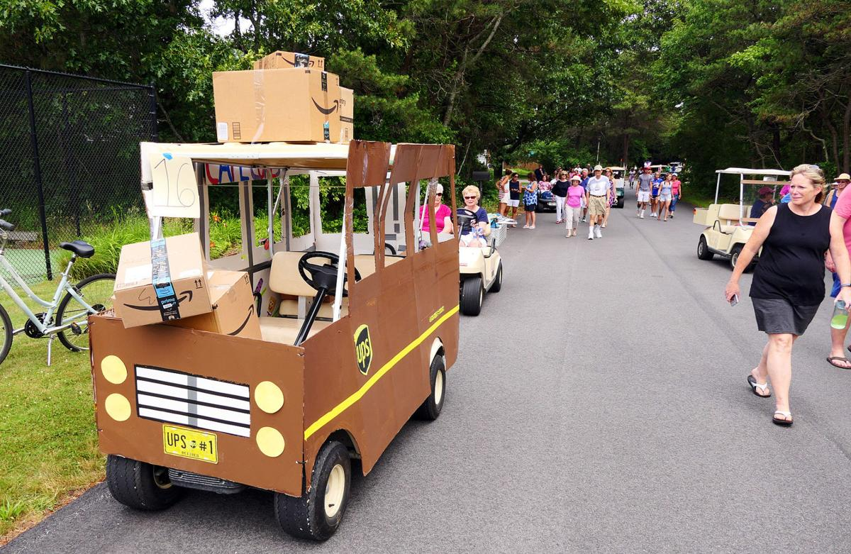 North Falmouth Neighborhood Celetes 4th With Golf Cart Parade ... on