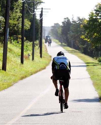 Cape Cod Canal Bikeway Cyclist