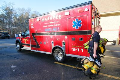 New Ambulance In Mashpee