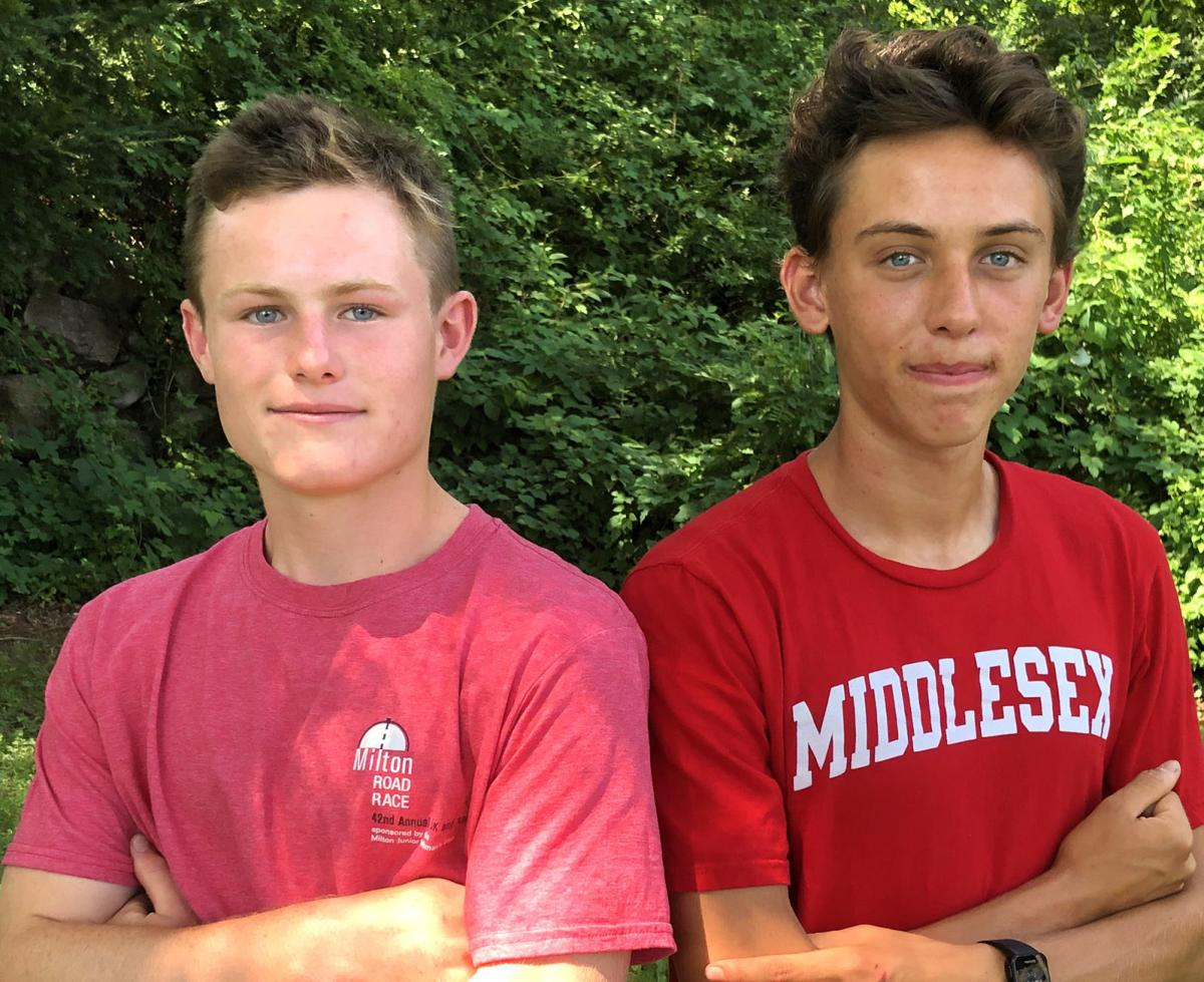 Gartner, Carew Happy To Represent Falmouth In Cochary High School Mile