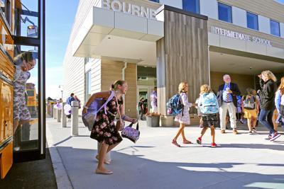 First Classes At Bourne Intermediate School