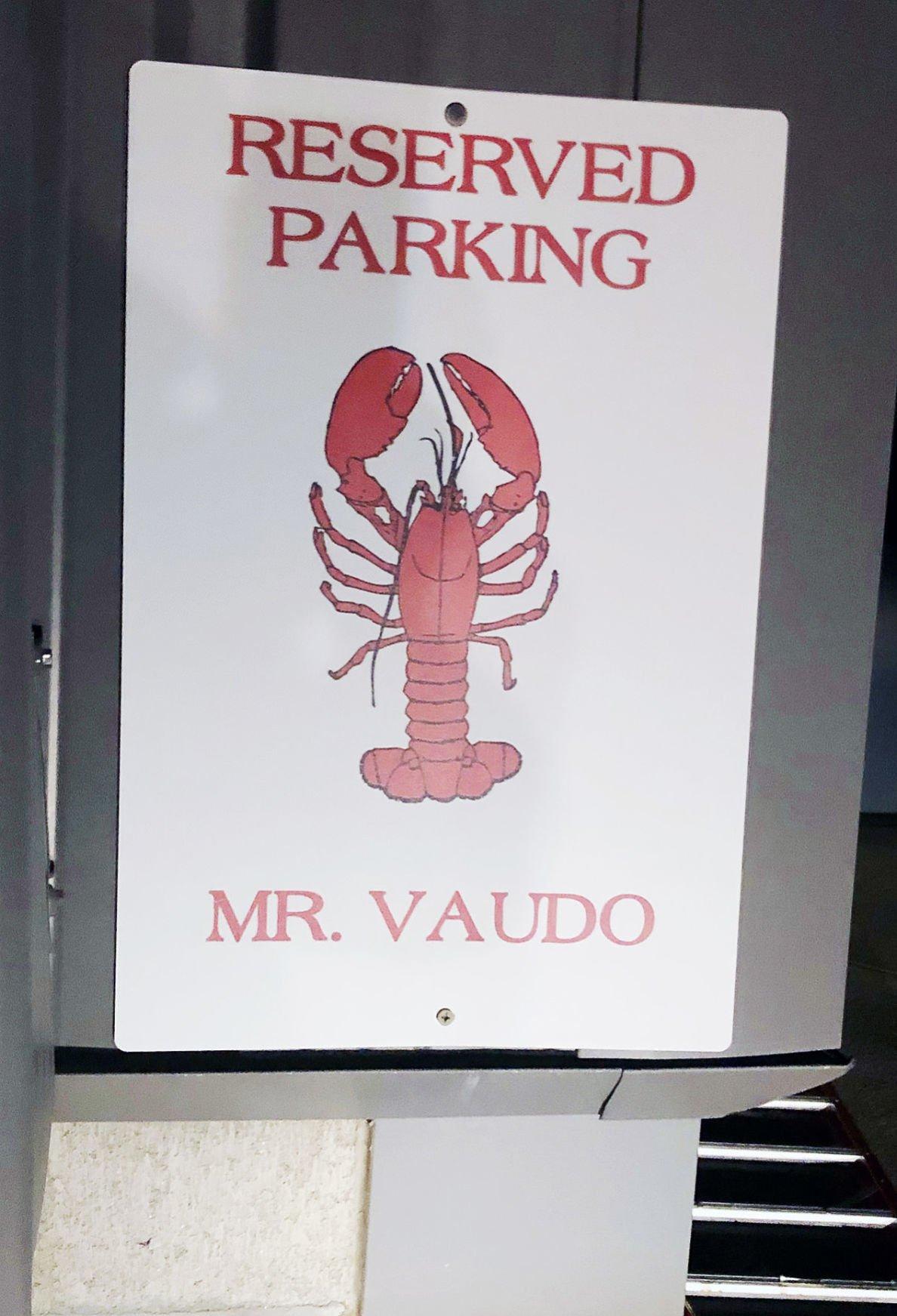 Joe Vaudo's Parking Space
