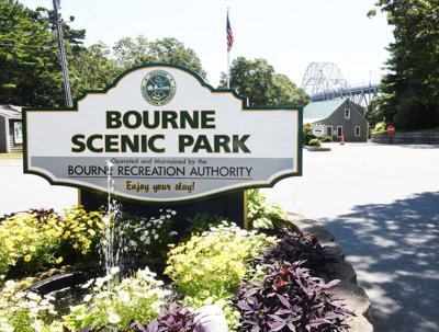Bourne Scenic Park Sign
