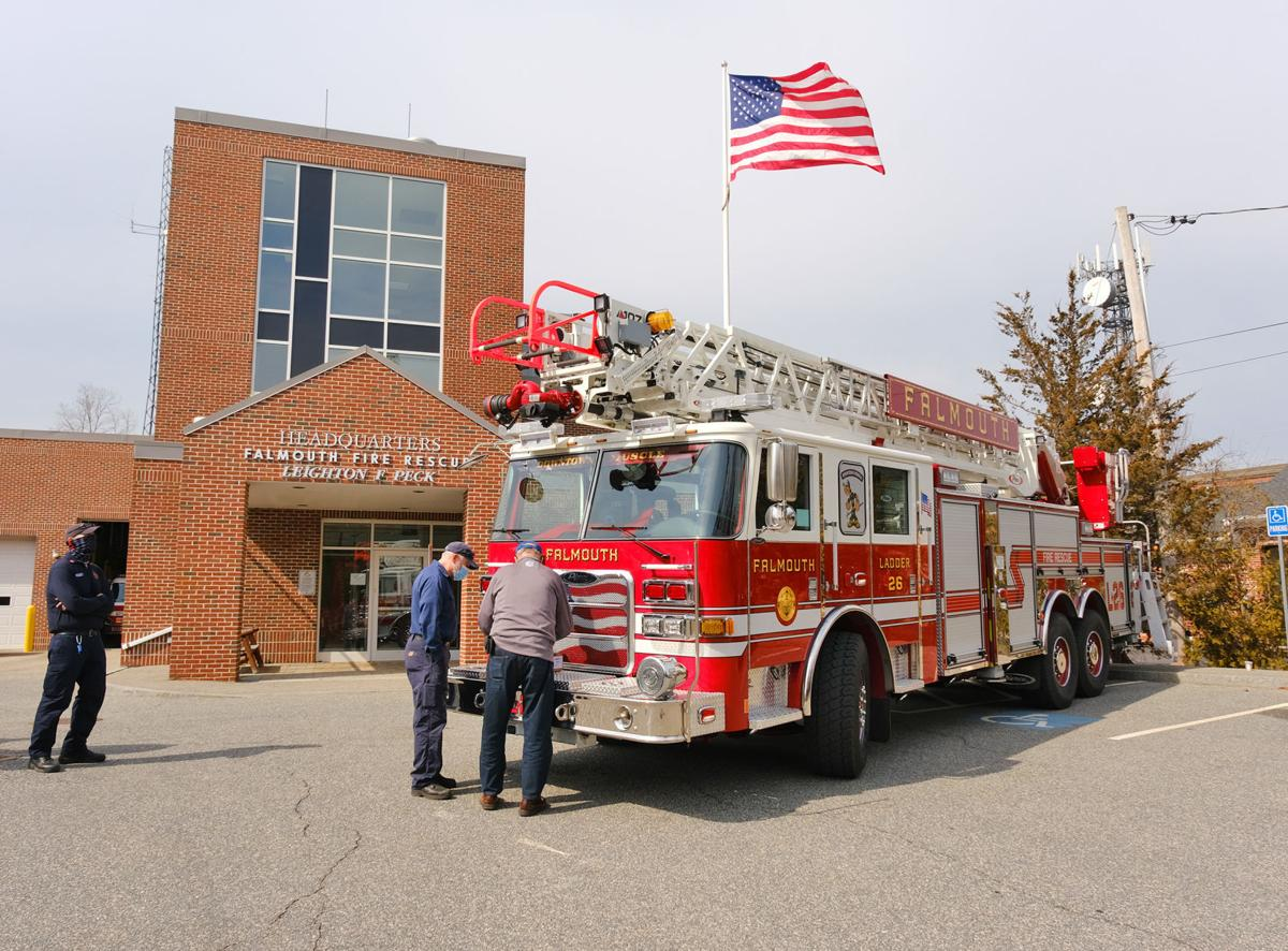 Falmouth Fire And Rescue New Ladder Truck