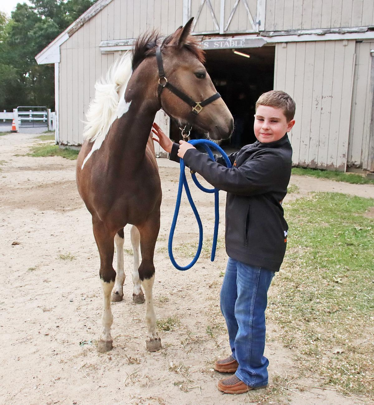 Nine-Year-Old Riding Champion Weston Norton