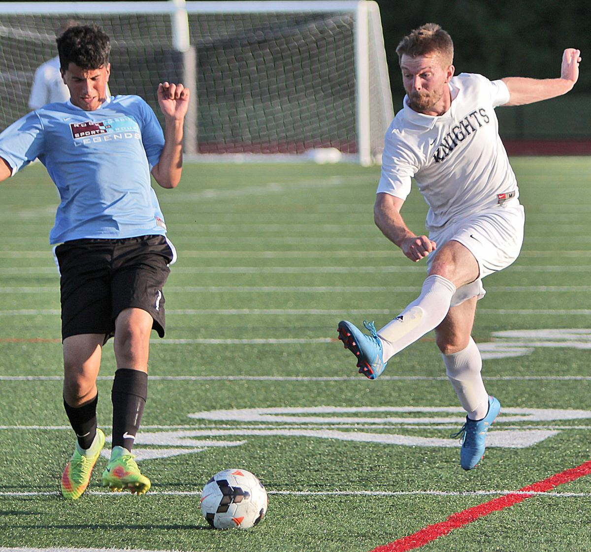 Knights Defeat Mid Cape United In Men's Soccer