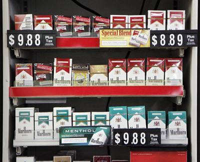 Cigarette Rack