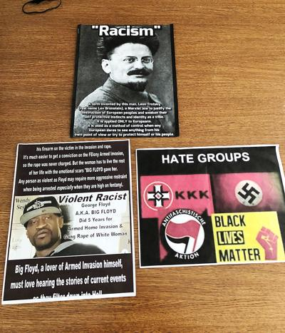 White Supremacy Flyers
