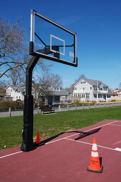 Falmouth Basketball Courts Closed
