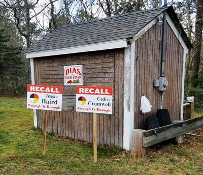 Recall Cromwell Signs