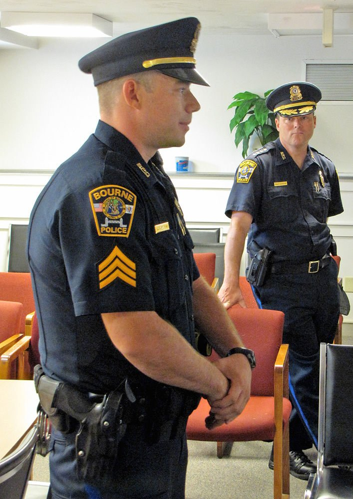Bourne Police Promote Wallace Perry To Sergeant Bourne