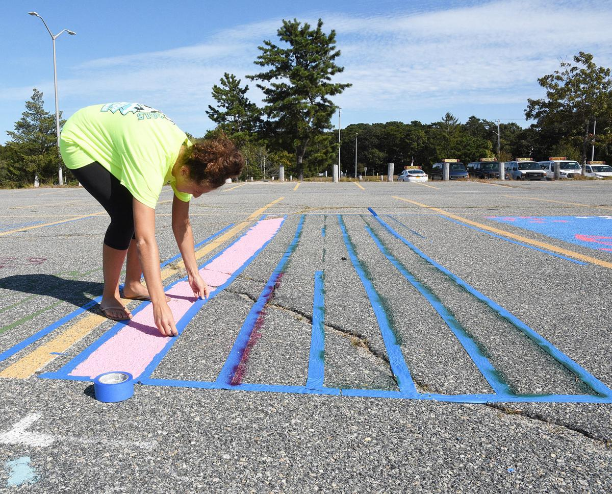Painting Parking Lot