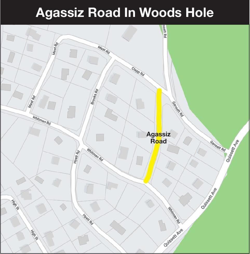 Agassiz Road Map