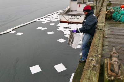 Woods Hole Oil Spill - January 22, 2018