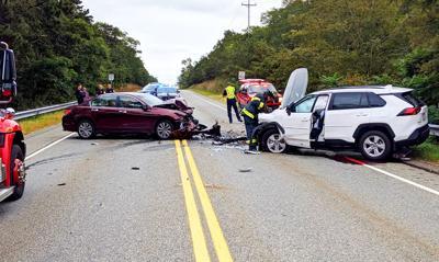 Route 151 Crash October 1, 2019
