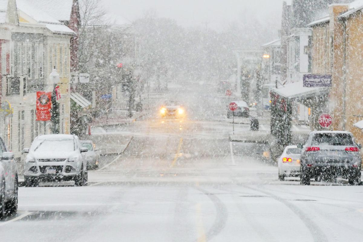 Mashpee's First Snowfall
