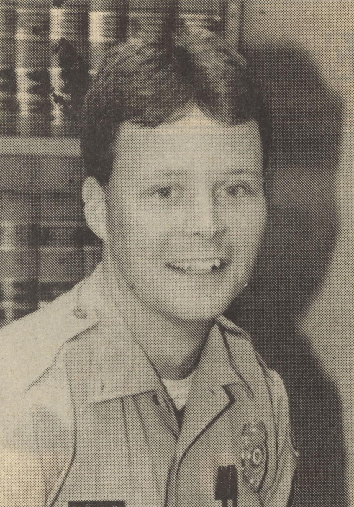 Sergeant Woodside