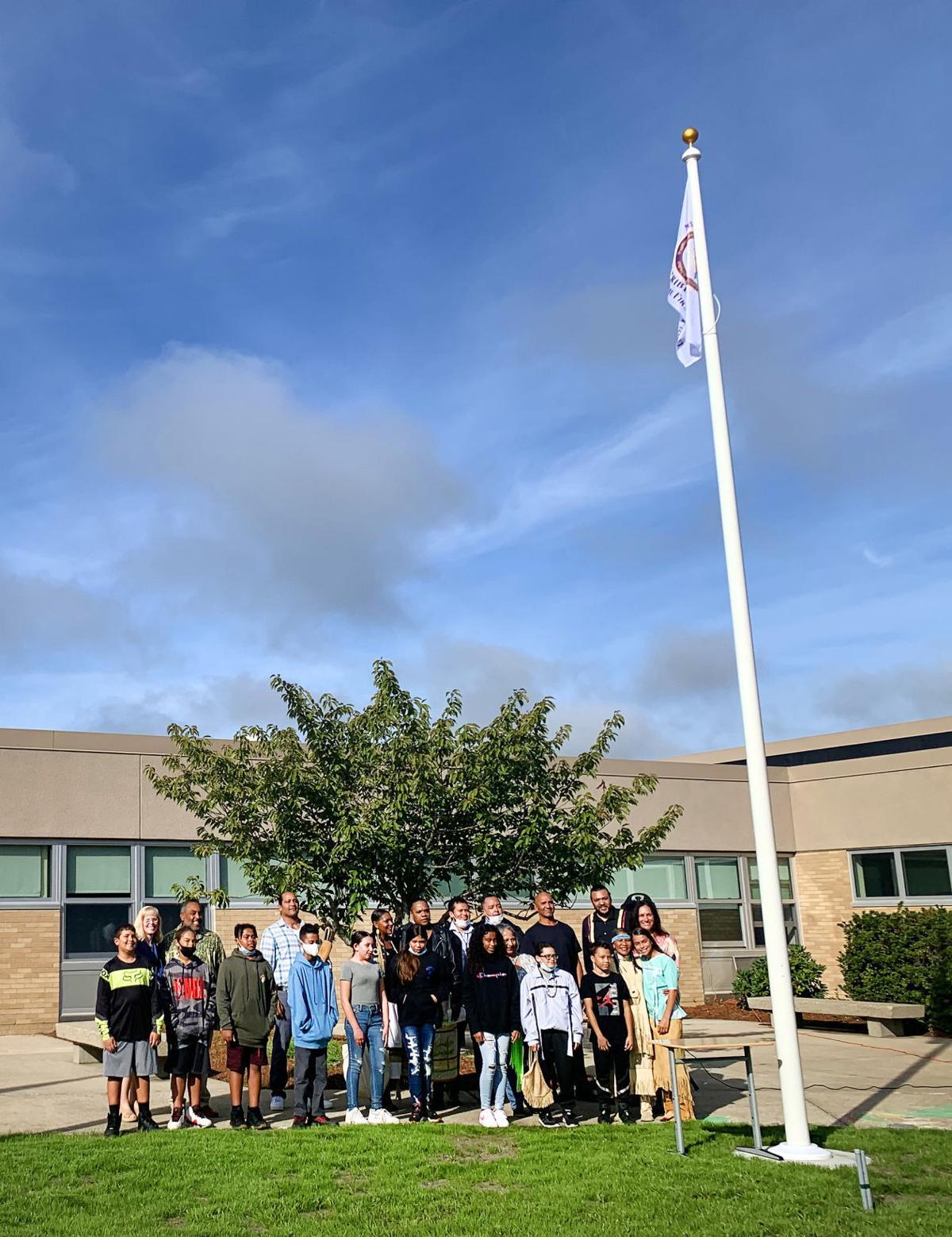 Wampanoag Flag Raising