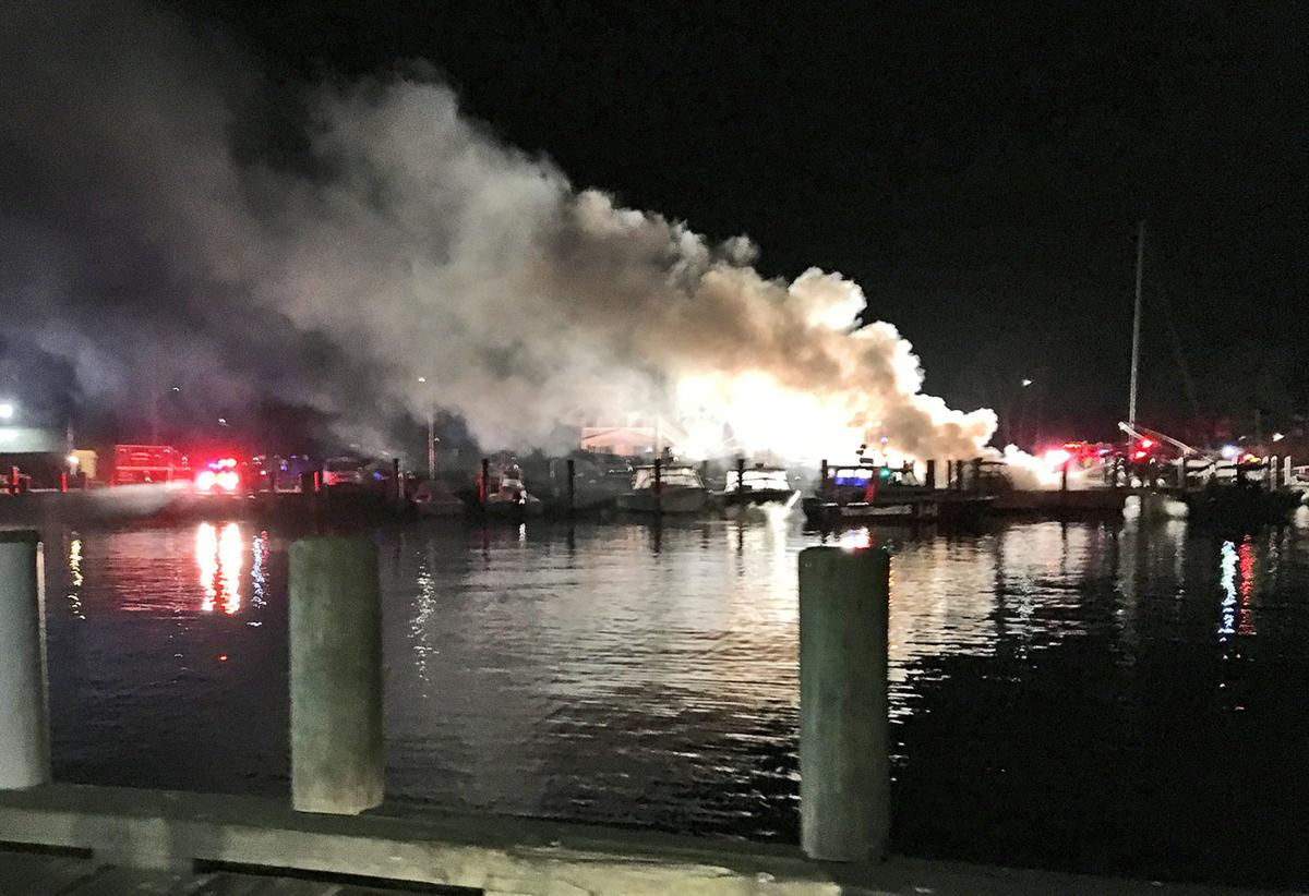 charter boat catches fire in falmouth falmouth news capenews net