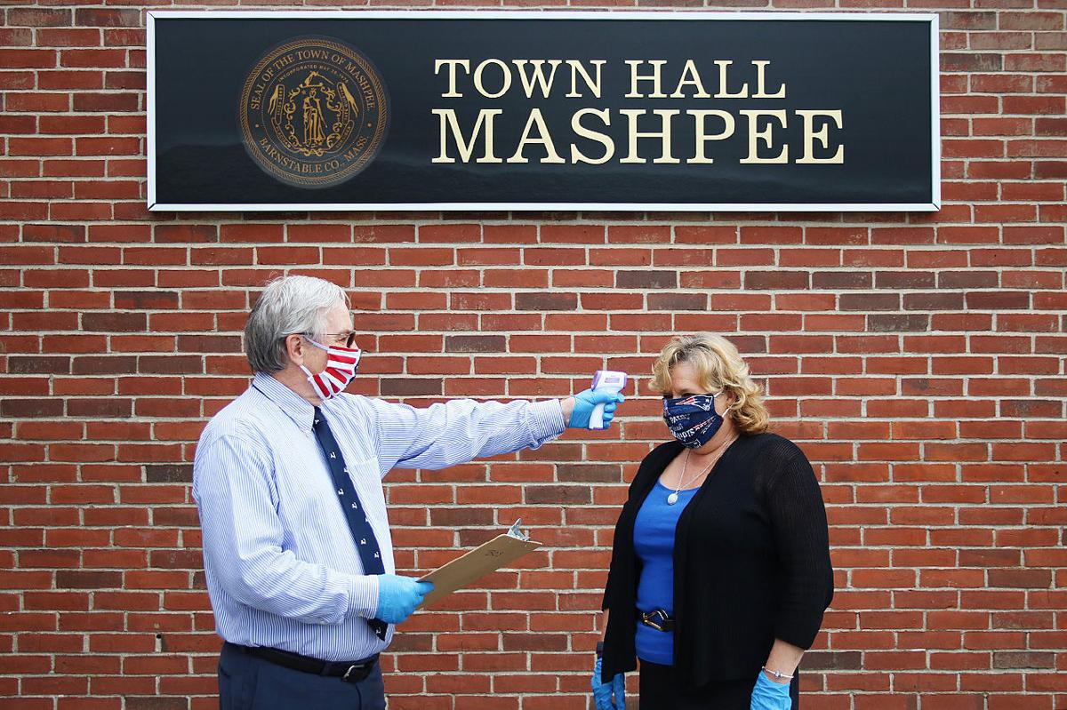Town Hall Reopens For Staff 1