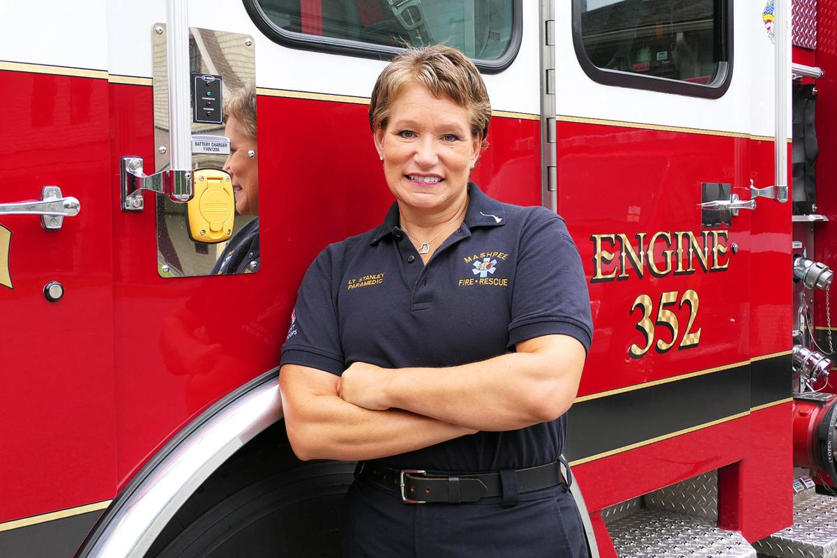 Mashpee Firefighter Looks To Return After Fight With Breast Cancer