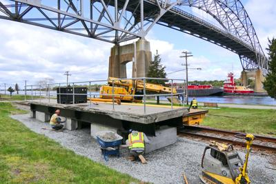 Train Platform Installation
