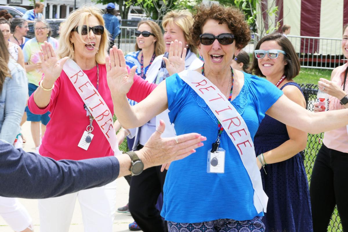Retiring Mullen Hall School Teachers