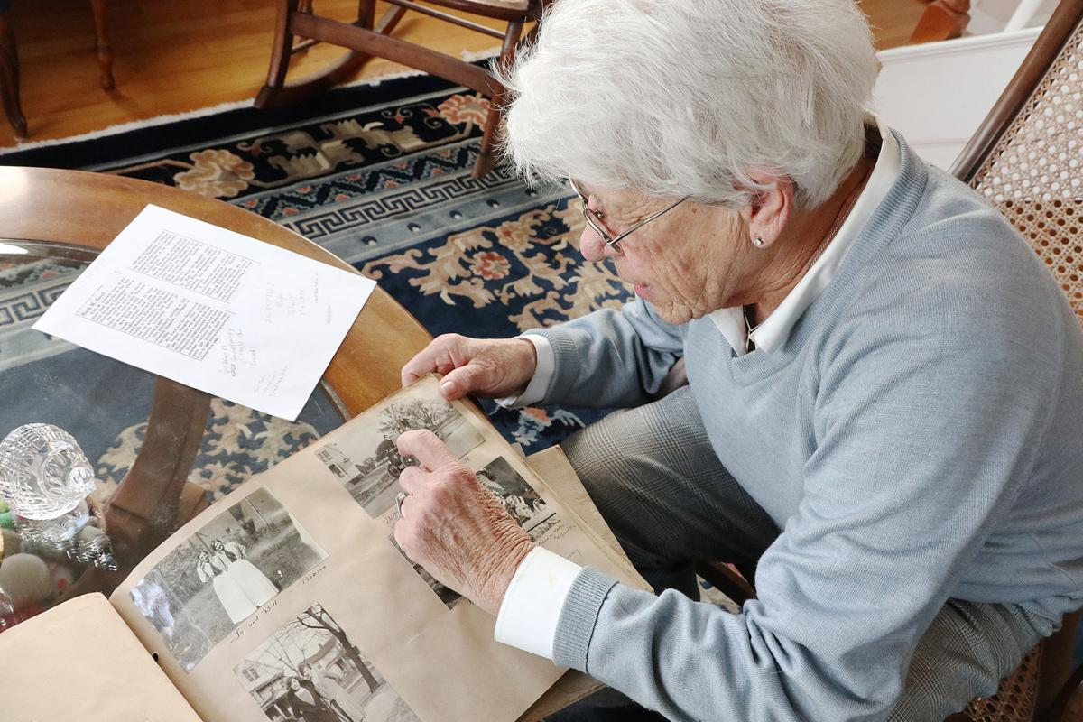 Falmouth Resident Receives Scrapbook Made By Her Mother In The