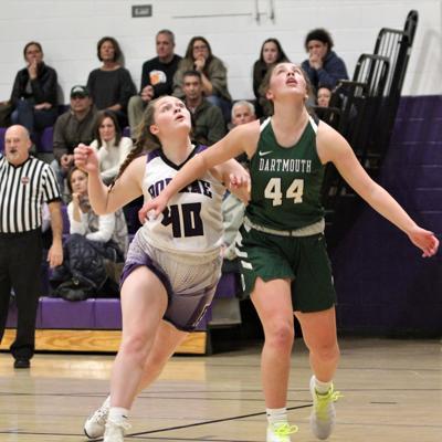 Bourne Girls' Basketball vs Dartmouth — December 13, 2019