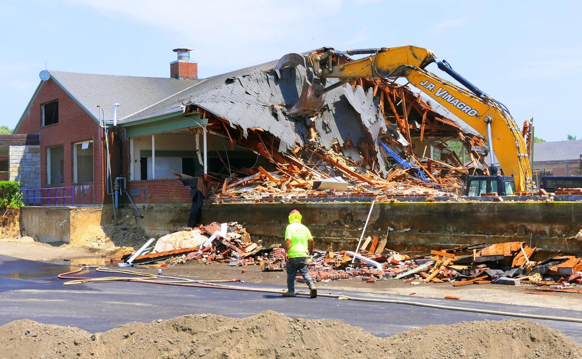Peebles School Demolished