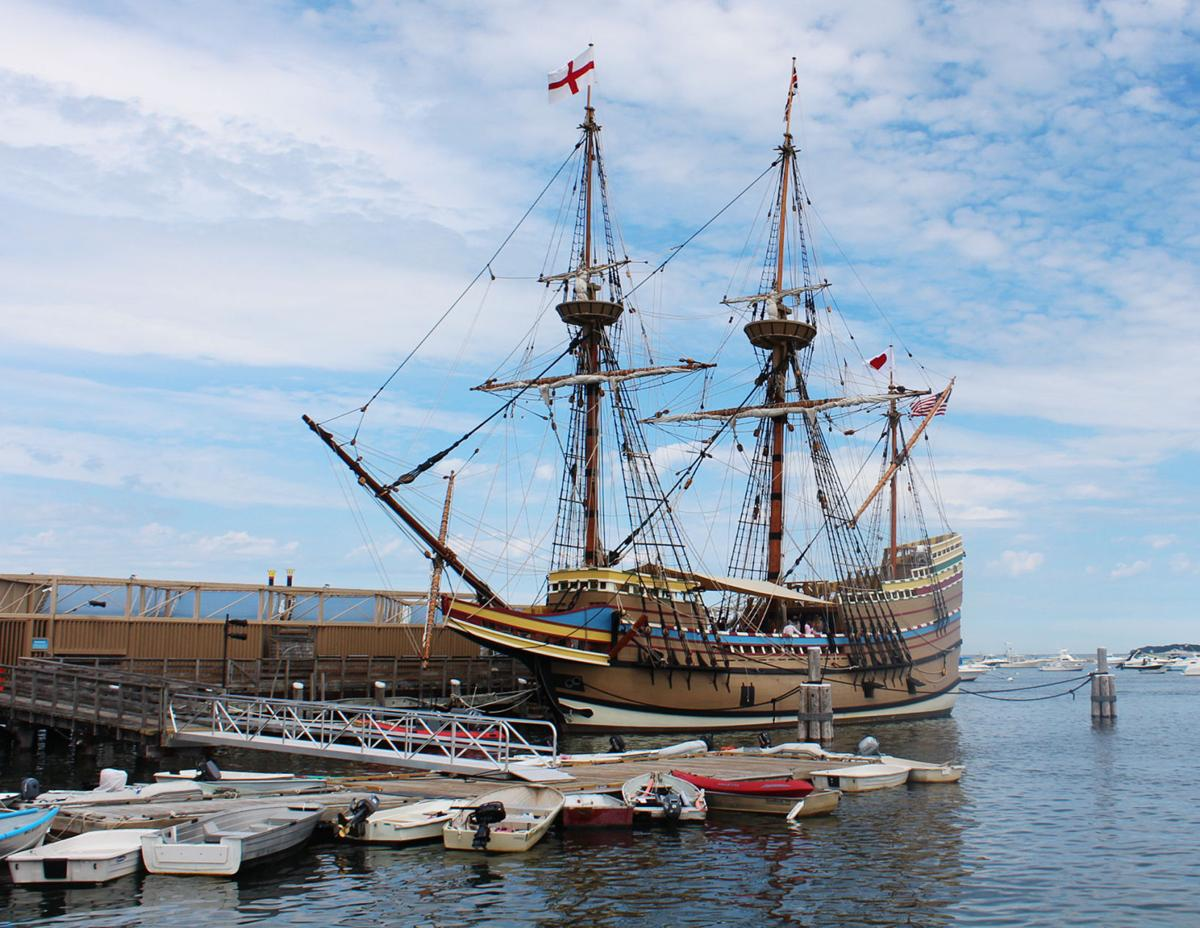 Mayflower II Returns to Plymouth Harbor