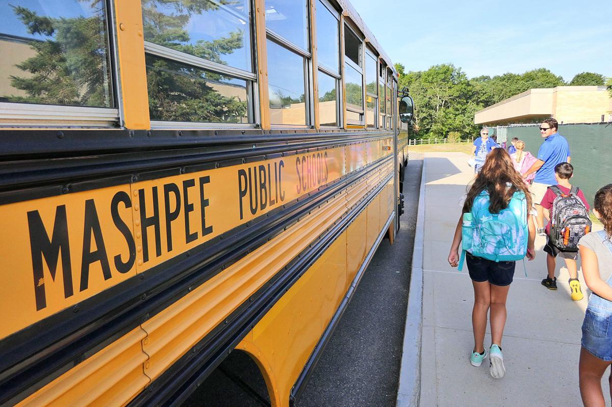 Mashpee First Day Of School - September 4, 2018