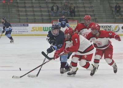 Sandwich Girls' Hockey vs Barnstable — January 1, 2020
