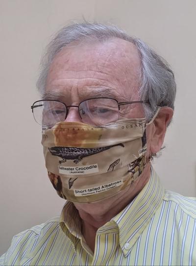 Wesley Ewell, masked