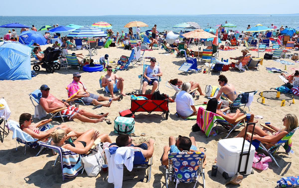 Falmouth 4th Of July Beach Day