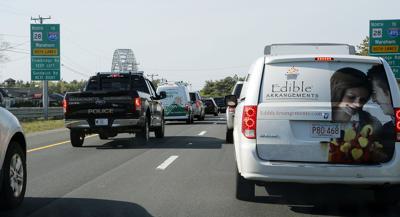 Bourne Bridge Traffic - May 2017