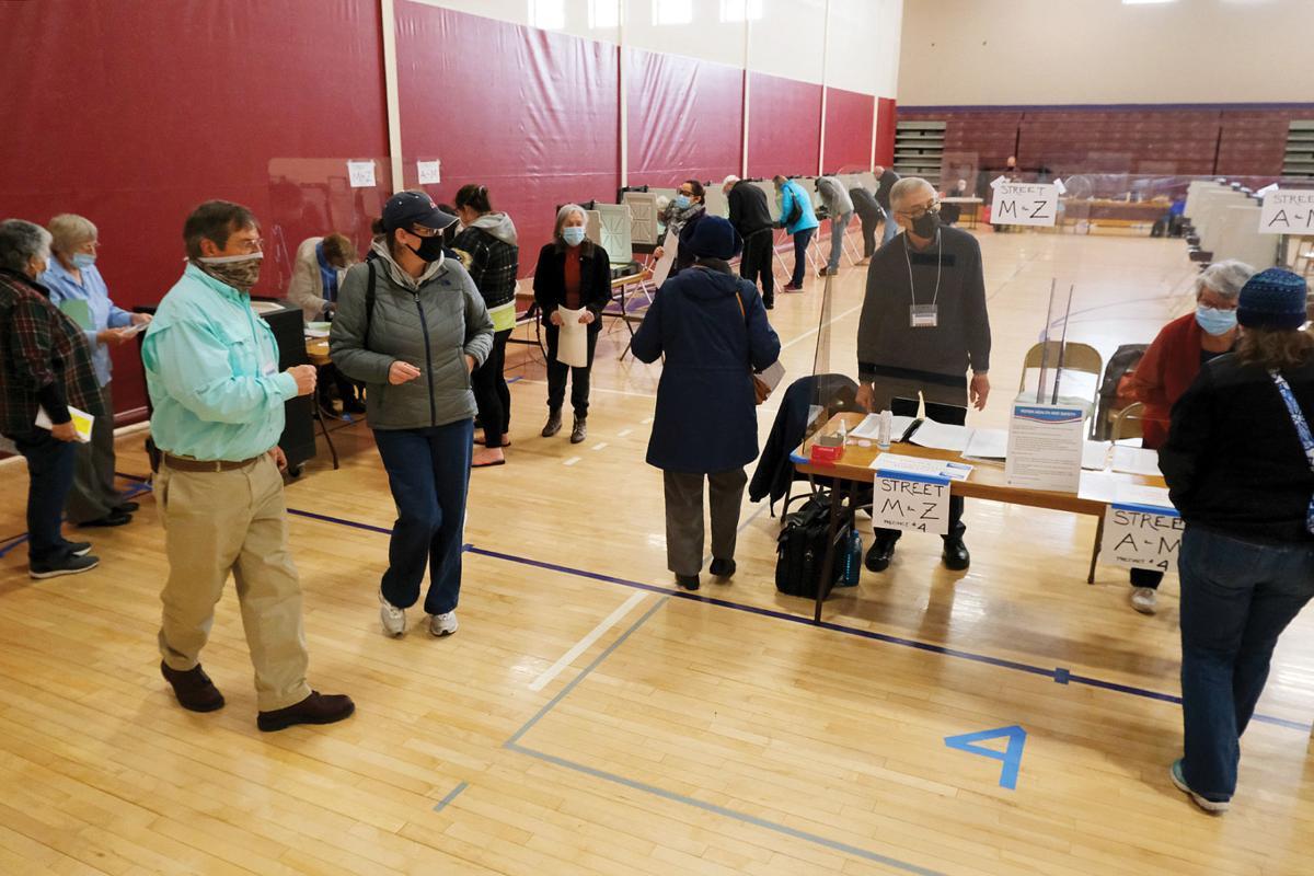 Bourne Election Day, November 3, 2020
