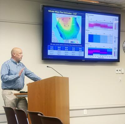 USGS Hydrologist Timothy McCobb